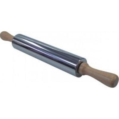 Скалка из нержавеющей стали 30*5 см, 93-AC-PR-12