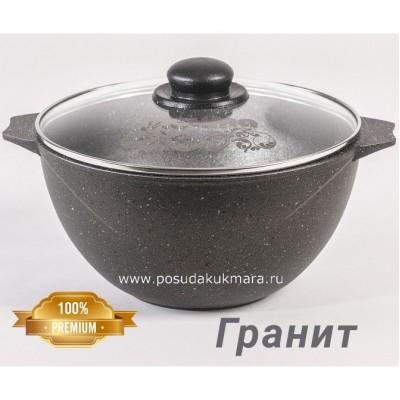 """Казан для плова с крышкой 6 л """"Гранит"""", 56701"""