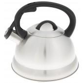 """""""Hoffmann"""" Чайник 2,8 л со свистком, нерж.сталь, 3-х слойн. капсулированное дно   НМ 5513"""
