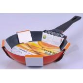 """""""Frybest"""" Сковорода 26 см, керамическое покрытие """"Ecolon"""", серия """"Orange""""   ORCA-F26"""
