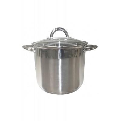 Кастрюля 19,2 л (32 см), нержавеющая сталь, индукция HM0632