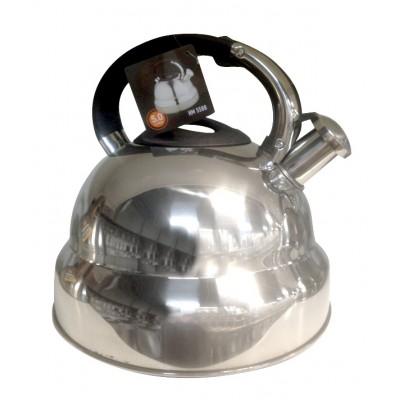 Чайник 5,0 л со свистком,нерж.сталь   НМ5588