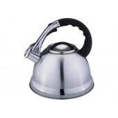 """""""Hoffmann"""" Чайник 3,3 л со свистком, нерж.сталь, 3-х слойное капс.дно   НМ 5555"""