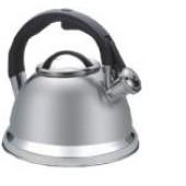 """""""Hoffmann"""" Чайник 3,3 л со свистком, нерж. сталь, 3-х слойное капс.дно   НМ 55104"""