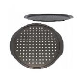 """""""Hoffmann"""" Противень для пиццы и пирогов 35 см, антипригарное покрытие с перфорацией   НМ 3038"""