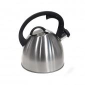 """""""Hoffmann"""" Чайник 2,5 л со свистком, нерж.сталь, 3-х слойное капсул.дно, индукция   НМ 55114"""