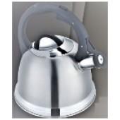 """""""Hoffmann"""" Чайник 2 л со свистком, нерж.сталь, 3-х слойное капс.дно, индукция   НМ 55116"""