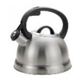 """""""Hoffmann"""" Чайник 2,3 л со свистком, нерж.сталь, 3-х слойное капсул.дно, индукция НМ 55123"""