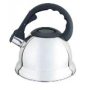 """""""Hoffmann"""" Чайник 3,0 л со свистком, нерж.сталь, 3-х слойное капсул.дно, индукция   НМ 55129"""