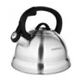 """""""Hoffmann"""" Чайник 2,8 л со свистком, нерж.сталь, 3-х слойное капсул.дно, индукция НМ 5513"""