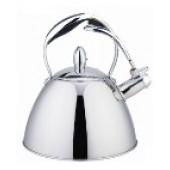 """""""Hoffmann"""" Чайник 3,0 л со свистком, нерж.сталь, 3-х слойное капсул.дно, индукция НМ 55138"""