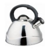 """""""Hoffmann"""" Чайник 3,0 л со свистком, нерж.сталь, 3-х слойное капсул.дно, индукция НМ 55139"""