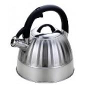 """""""Hoffmann"""" Чайник 3,3 л со свистком, нерж.сталь, 3-х слойное капсул.дно, индукция НМ 55141"""
