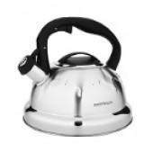 """""""Hoffmann"""" Чайник 2,5 л со свистком, нерж.сталь, 3-х слойное капсул.дно, индукция НМ 55148"""