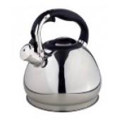 """""""Hoffmann"""" Чайник 2,0 л со свистком, нерж.сталь, 3-х слойное капсул.дно, индукция НМ 55150"""