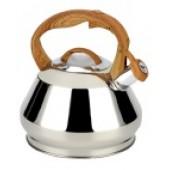 """""""Hoffmann"""" Чайник 3,0 л со свистком, нерж.сталь, 3-х слойное капсул.дно, индукция НМ 55156"""