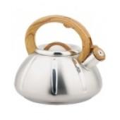 """""""Hoffmann"""" Чайник 3,0 л со свистком, нерж.сталь, 3-х слойное капсул.дно, индукция НМ 55170"""