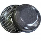 """""""GOODGRILL"""" Сковорода гриль-газ с эмалированным покрытием, с мраморной крошкой Тайвань)   D518"""