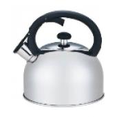 """""""Hoffmann"""" Чайник 2,0 л со свистком, нерж.сталь, 3-х слойное капсул.дно, индукция   НМ 5518"""