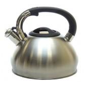 """""""Hoffmann"""" Чайник 3,3 л со свистком, нерж.сталь, 3-х слойное капс.дно   НМ 5570"""