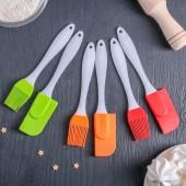 Лопатки, кисточки (стальные, силиконовые, деревянные)